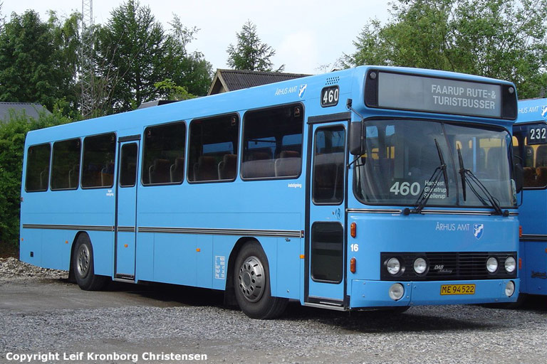 Faarup Rute- og Turistbusser 16/ME94522 i Faarup den 18. juni 2004