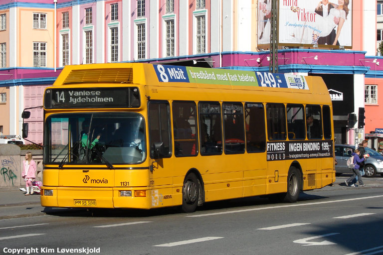 Arriva 1131/PM95388 ved Vesterport st. i København den 25. september 2008