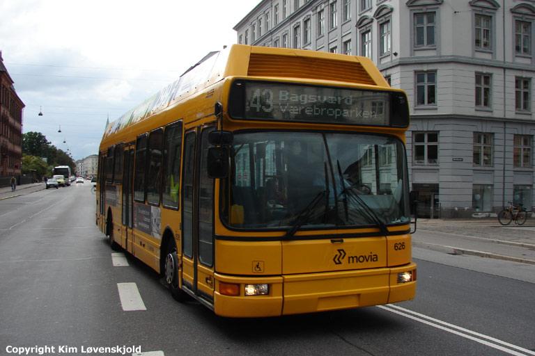 Arriva 1626/PZ89704 på Øster Farimagsgade i København den 16. september 2008