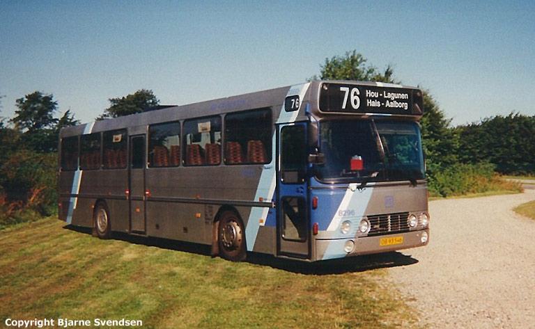 Combus 8296/OB93546 mellem Ulsted og Hou den 22. juli 2000