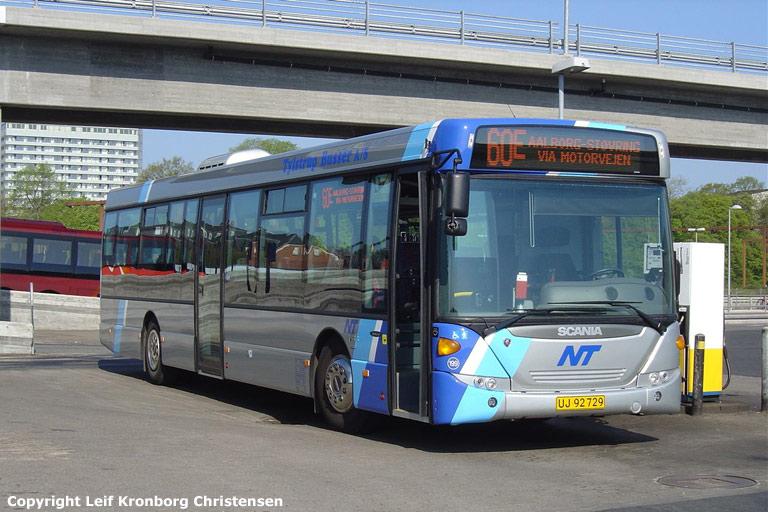Tylstrup Busser 199/UJ92729 på Aalborg rtb. den 10. maj 2006