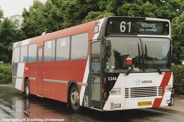 Arriva 2348/NJ93668 på Randers rtb. den 25. juli 2003