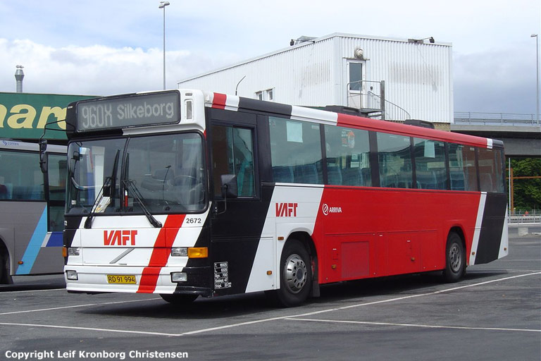 Arriva 2672/RD91994 på Aalborg rtb. den 18. juni 2004