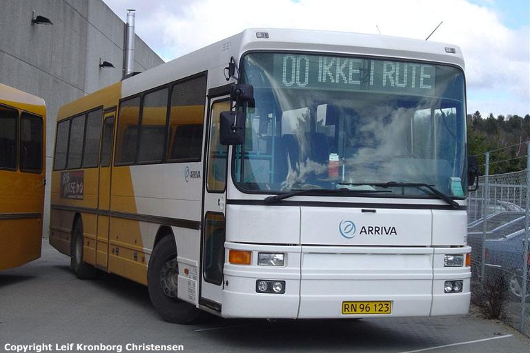 Arriva 2746/RN96123 i garagen i Silkeborg den 9. april 2005