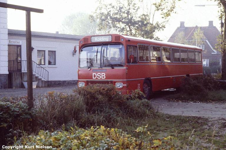 DSB 400/CB88850 i Hejlsminde i 1978