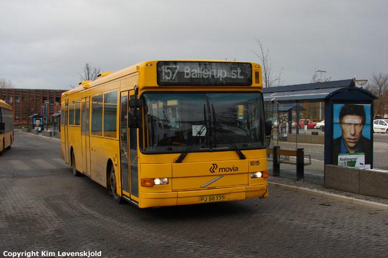 Arriva 1015/PJ88335 ved Ballerup st. den 24. november 2008