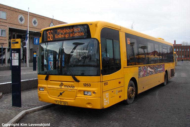 Arriva 1253/TJ97101 ved Ballerup st. den 24. november 2008