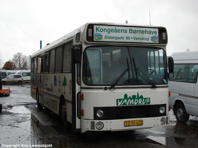 Kongeåens Børnehave TZ92430 ved Vejstruprød Busimport i Christiansfeld den 19. november 2008