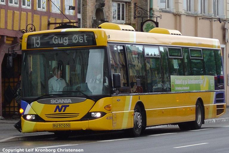 Arriva 4389/RU97030 i Aalborg den 18. juni 2004