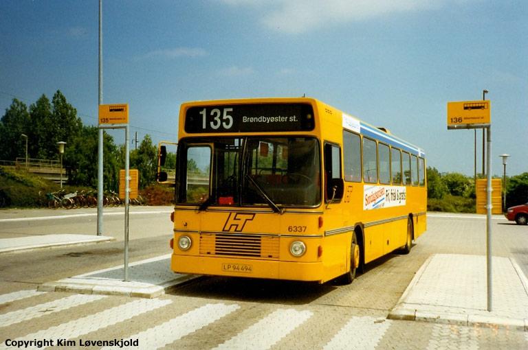 Linjebus 6337/LP94494 ved Vallensbæk st. den 4. juni 1997