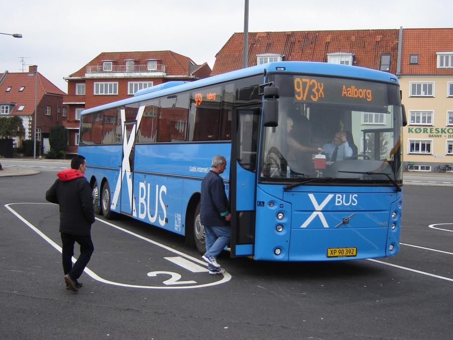 Arriva 3035/XP90392 på Frederikshavn Busterminal den 9. oktober 2010