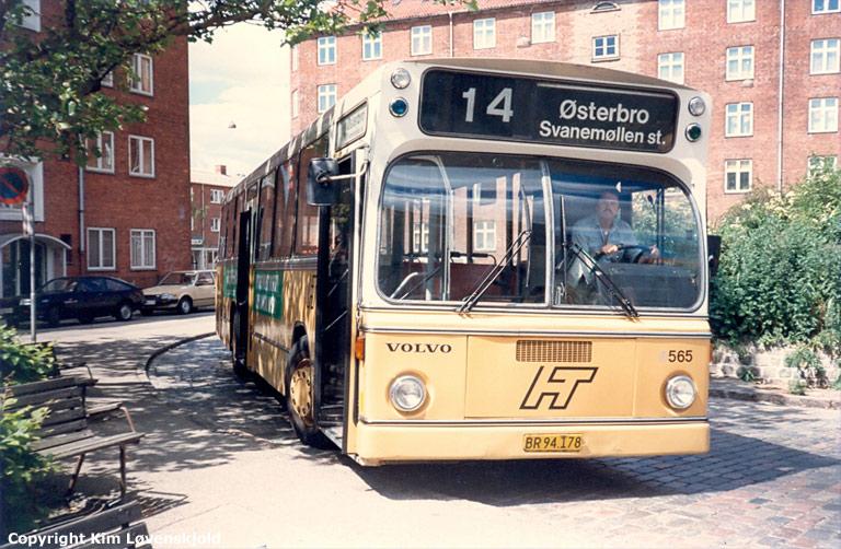 HT 565/BR94178 i Jydeholmen i Vanløse i juni 1986