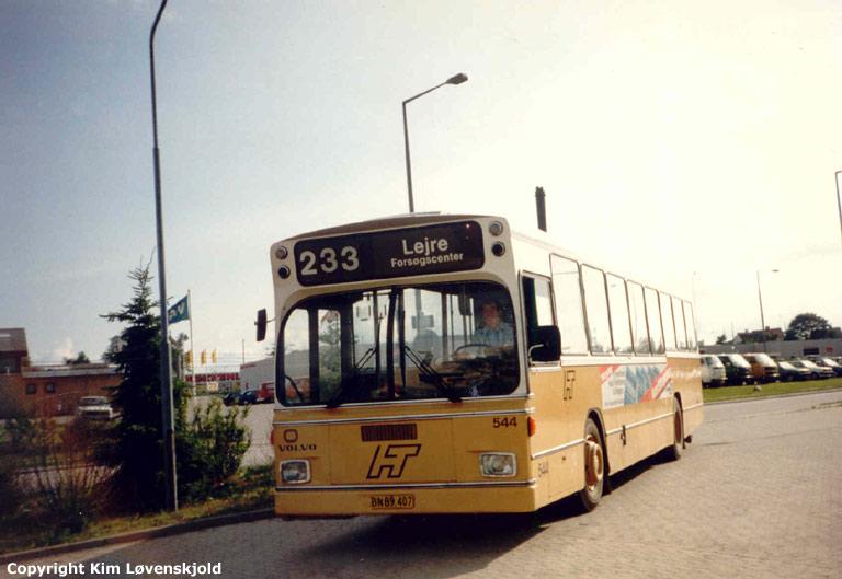HT 544/BN89407 i Roskilde i juli 1986