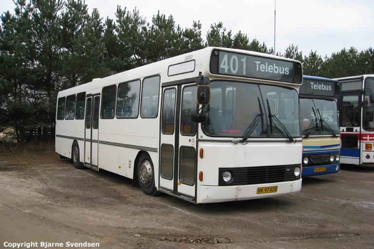 City-Tours 33/VK97028 i garagen i Gandrup den 31. januar 2009