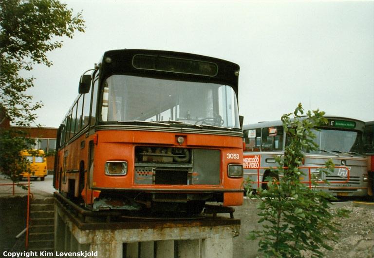 HT 3053 i garagen i Gladsaxe i 1986