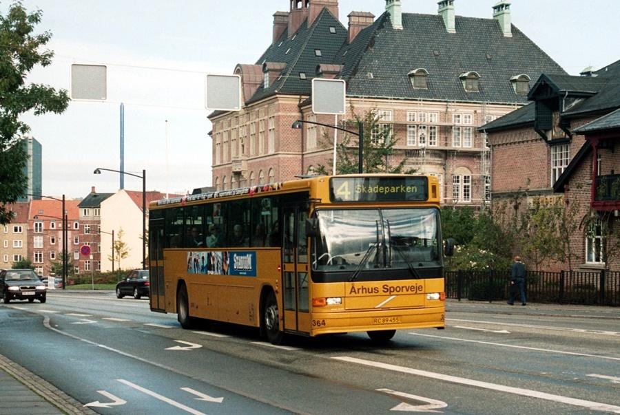 Århus Sporveje 364/RC89455 på Vester Allé i Århus den 4. oktober 2003