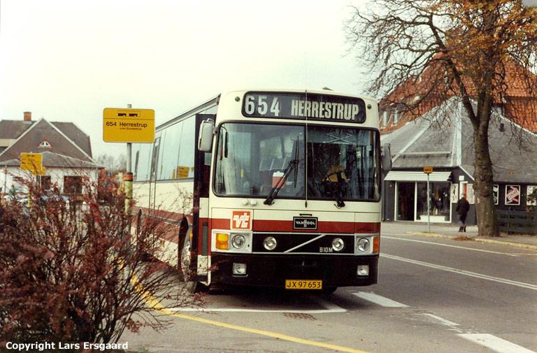 Poul Erik Madsen JX97653 ved Asnæs st. den 18. oktober 1985