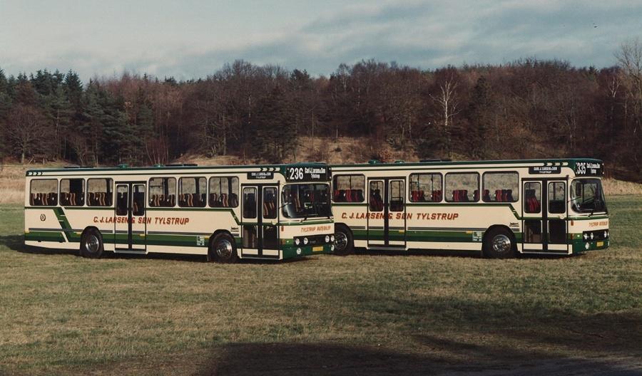 Tylstrup Rutebiler 16/JJ92223 og 17/JJ92224