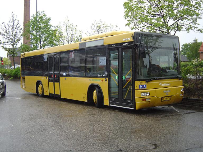 NF Turistbusser 47/XD96167 i Holstebro den 16. maj 2009