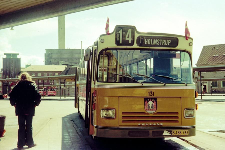 Århus Sporveje 131/BJ88767 på Århus rtb. den 1. juni 1975