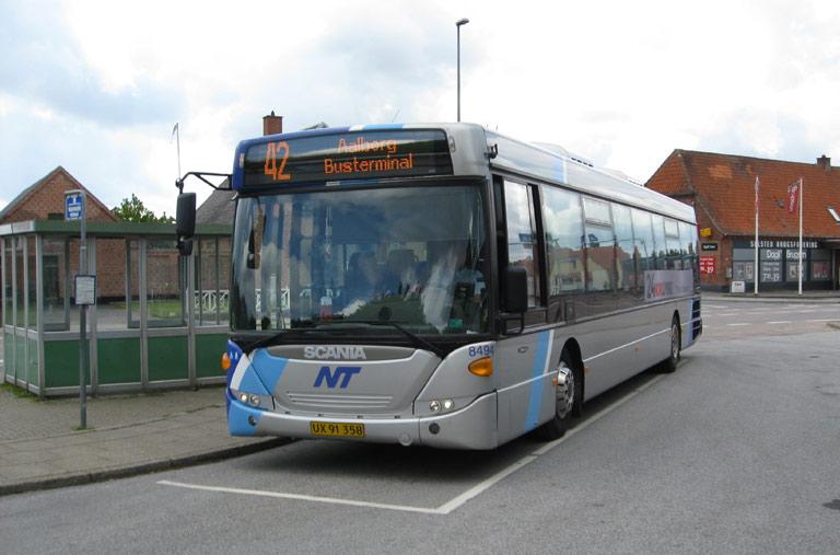 Arriva 8494/UX91358 ved Sulsted skole den 22. maj 2009