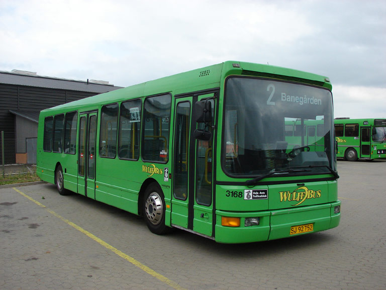 Arriva 3168/SJ92752 i Hedensted den 13. juni 2007