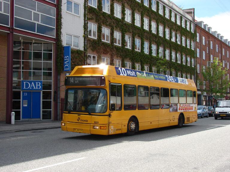 Arriva 1129/PL96061 på Finsensvej i København den 25. maj 2009