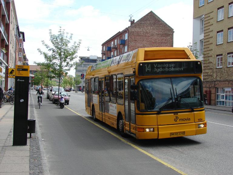 Arriva 1134/PM95410 på Finsensvej i København den 25. maj 2009