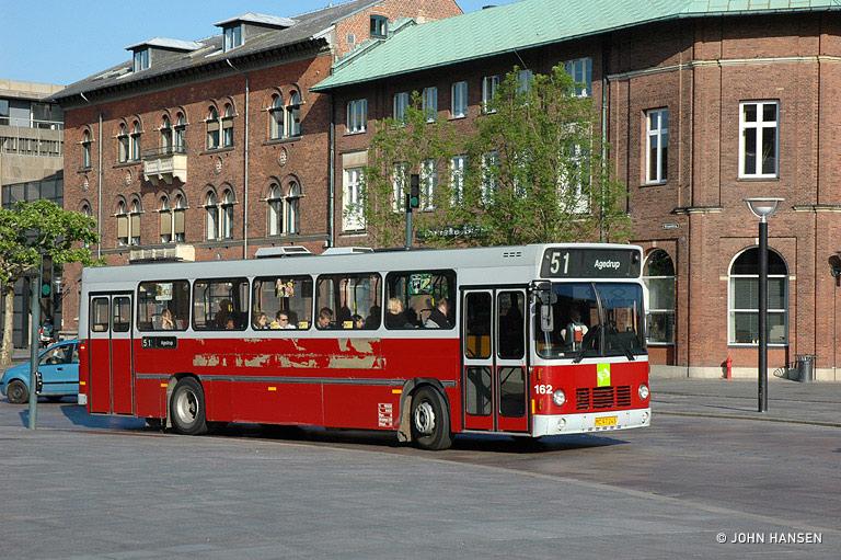 Odense Bybusser 162/MC97243 på Klosterbakken i Odense den 31. maj 2007