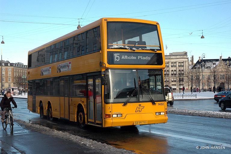 Arriva 1452/SB95711 på Kgs. Nytorv i København den 27. januar 2007