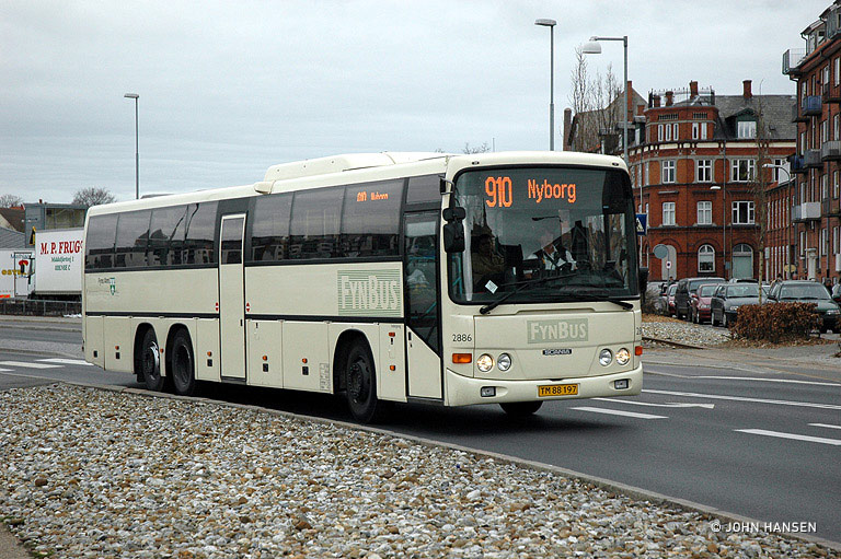 Arriva 2886/TM88197 i Nyborg den 3. april 2007
