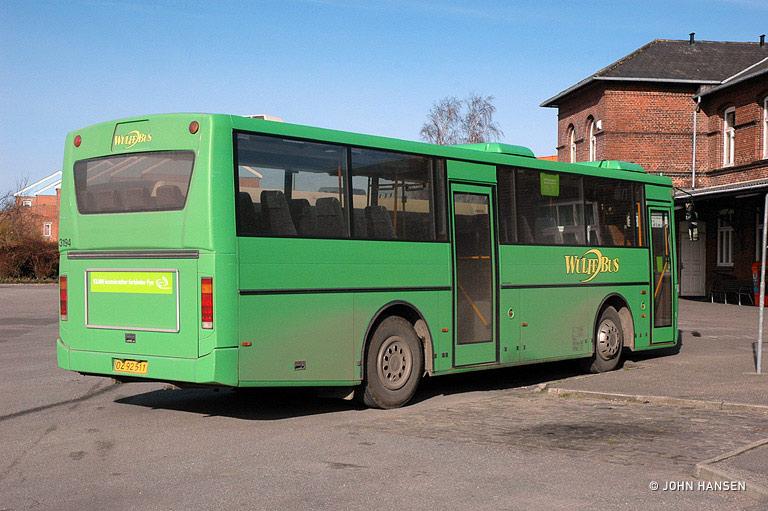 Arriva 3194/OZ92511 i Bogense den 5. marts 2008