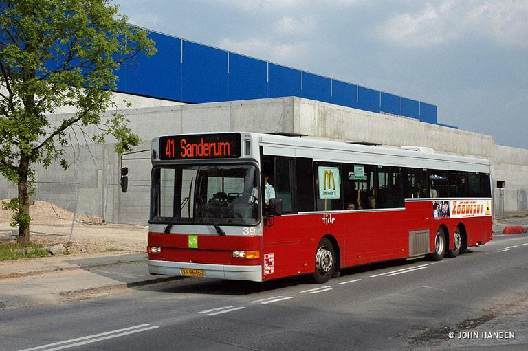 Tide Bus 39/SN96469 på Gørtlervej i Odense den 26. maj 2009