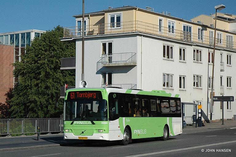 Tide Bus 8064/UB95793 på Albanigade i Odense den 29. maj 2009
