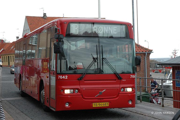 Iversen Busser 7642/TB94683 i Allinge den 2. juli 2007