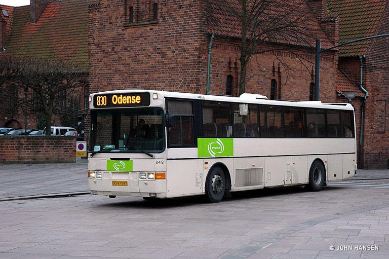 Arriva 8418/OD97597 på Klosterbakken i Odense den 11. marts 2008