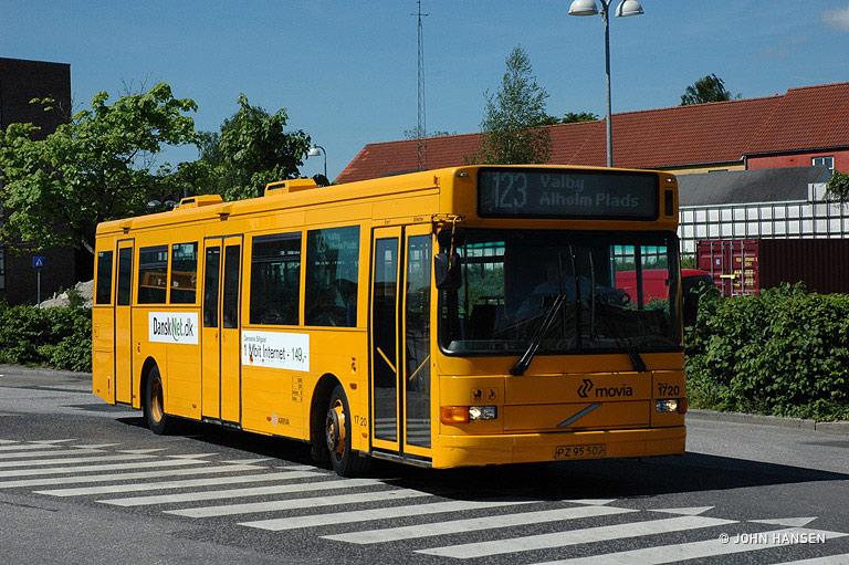 Arriva 1720/PZ95502 i Glostrup den 13. maj 2008