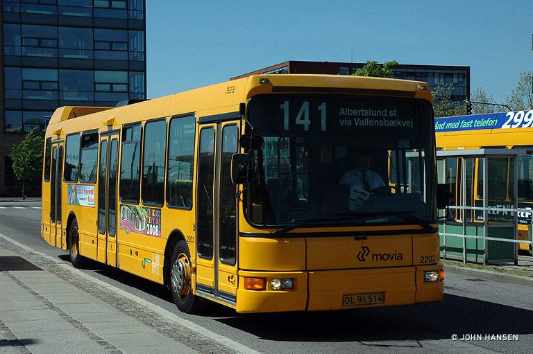 City-Trafik 2203/OL91514 ved Glostrup st. den 13. maj 2008