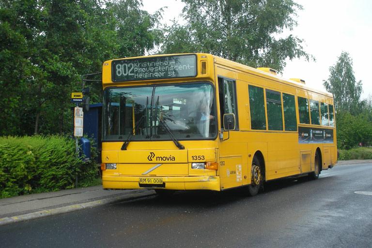 Arriva 1353/RM91008 ved Kristinehøj i Helsingør den 30. juli 2007