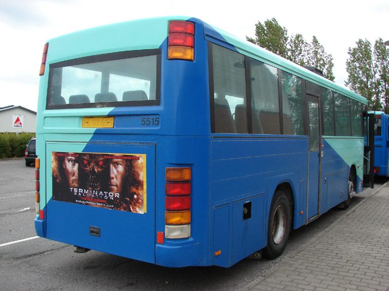 Arriva 5515/PL97653 ved Horrebyhallen/Møllebakkeskolen i Horreby den 16. juni 2009