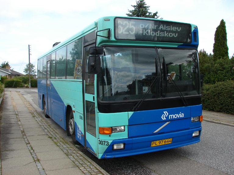 Arriva 5516/PL97644 i Nørre Alslev den 16. juni 2009