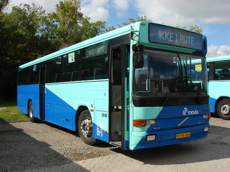 Arriva 5618/PX96184 i garagen i Stege den 16. juni 2009