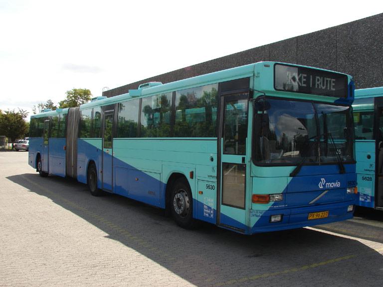 Arriva 5630/PX96227 i garagen i Stege den 16. juni 2009