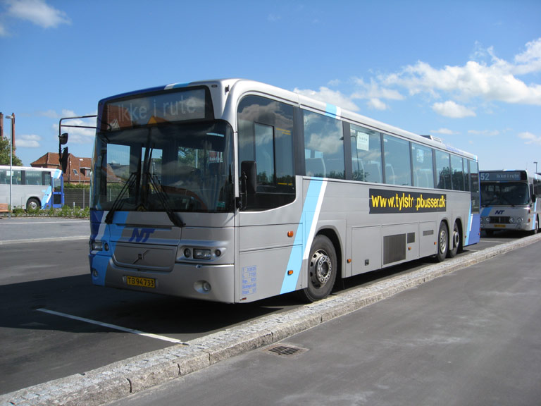 Tylstrup Busser 176/TB94733 på Aars rtb. den 14. juni 2009