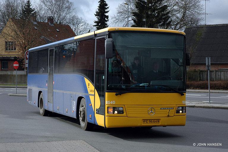 Arriva 8540/PE96649 i Hammel den 29. februar 2008