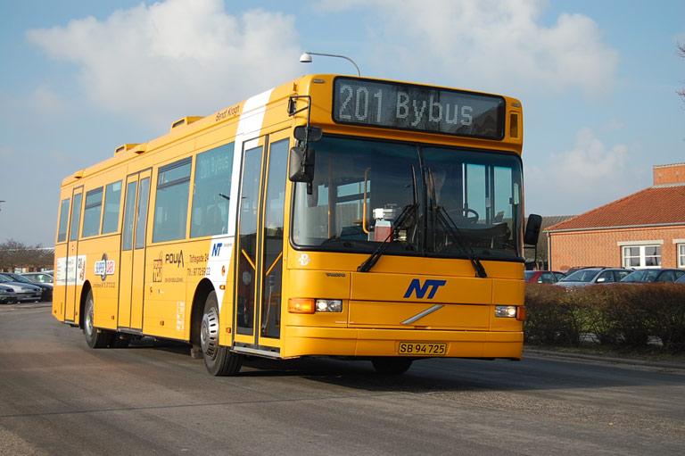 Bendt Krogh SB94725 på Nykøbing M. rtb. den 9. april 2008