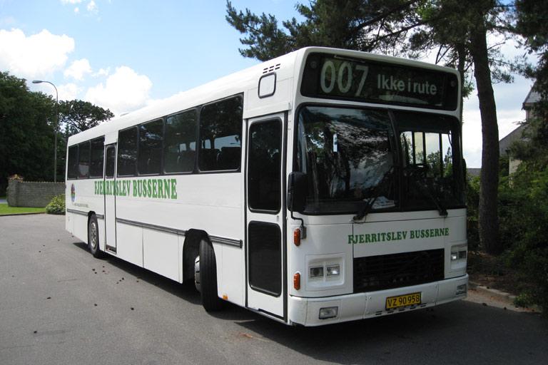 Fjerritslev Busserne VZ90958 i Arentsminde den 22. juni 2009
