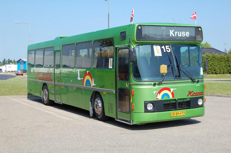 Kruse 37/OD89473 ved Scania i Holbæk den 2. juli 2009