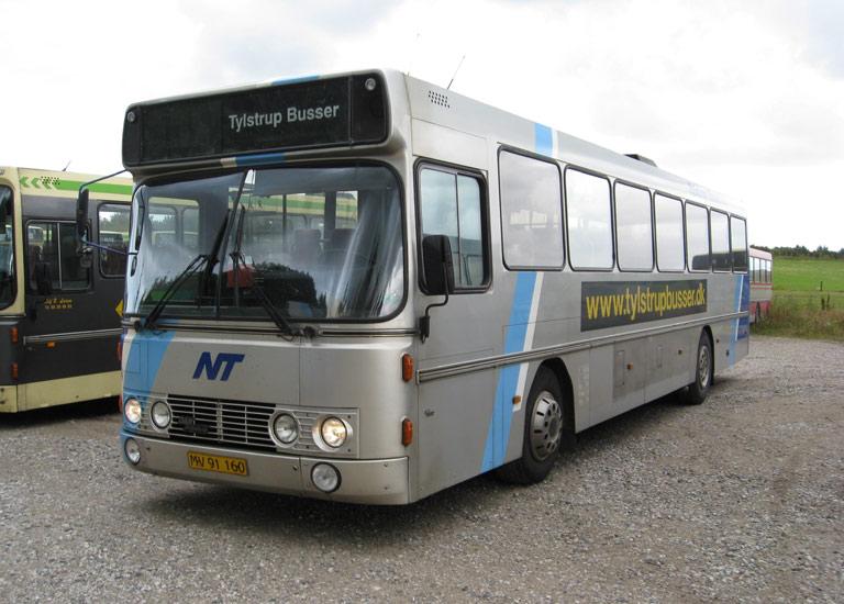 Tylstrup Busser 189/MV91160 i garagen i Tylstrup den 9. juli 2009
