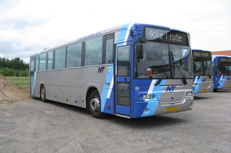 Tylstrup Busser 167/SX94941 i garagen i Terndrup den 12. juli 2009